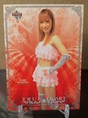 Saki Kashima 2012 BBM Joshi True Heart Base Card