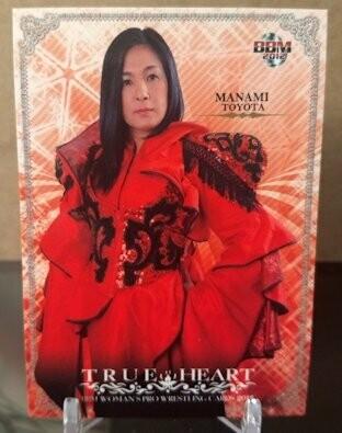 Manami Toyota 2012 BBM Joshi True Heart Base Card