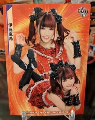Maki Itoh 2021 BBM Women's Pro Wrestling Base Card