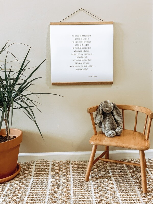 Little Time by Liza Dora (Matte Paper Poster)