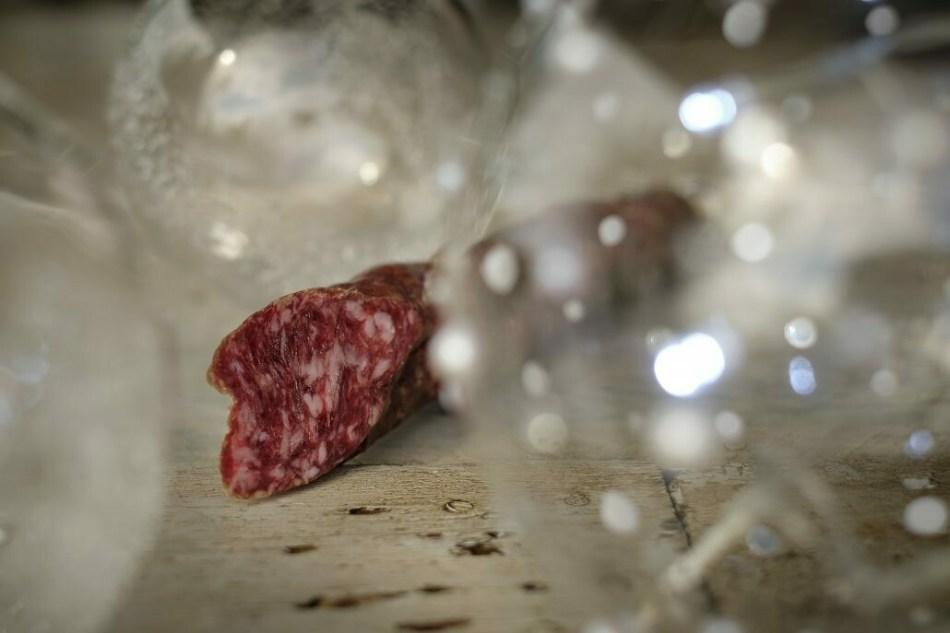 Cerdos y Rosas: Longaniza al Armagnac