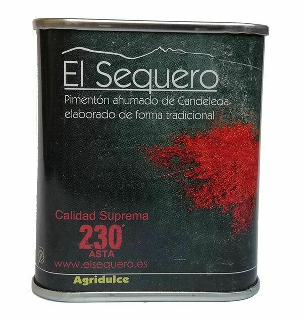 EL SEQUERO: Lata Pimentón Ahumado Agridulce 70g