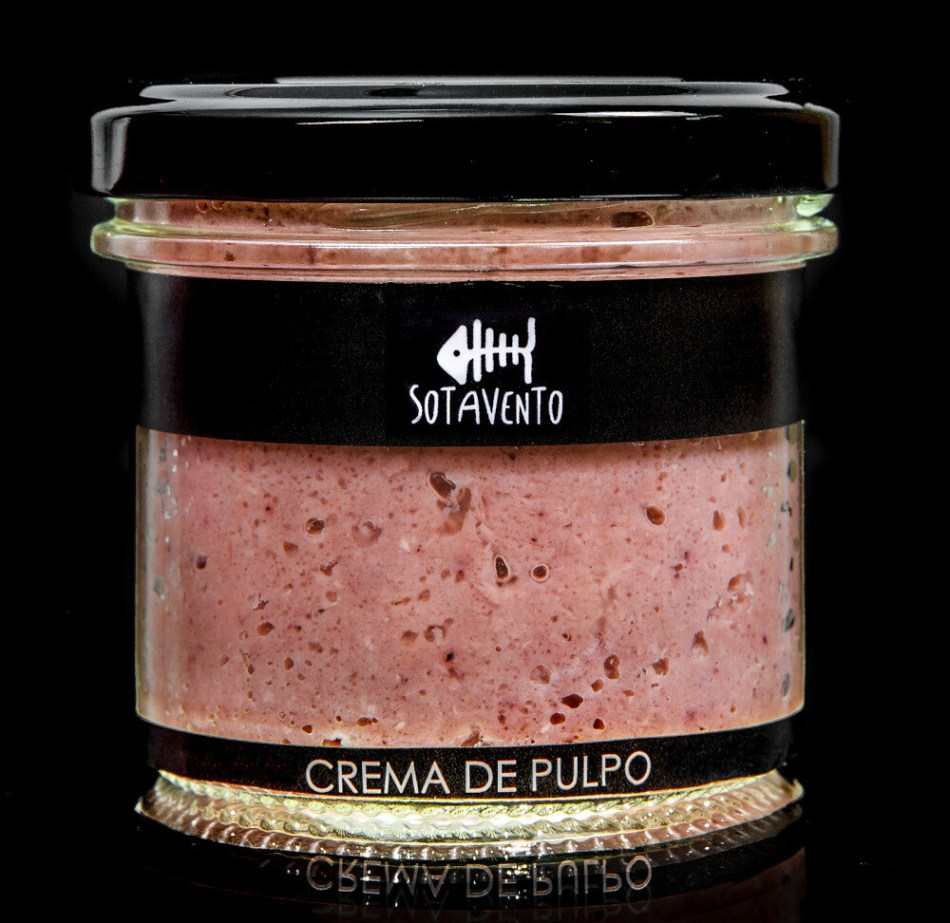 Crema de pulpo á feira con Aceite de Oliva Virgen Extra (AOVE) - Sotavento Conservas Artesanas