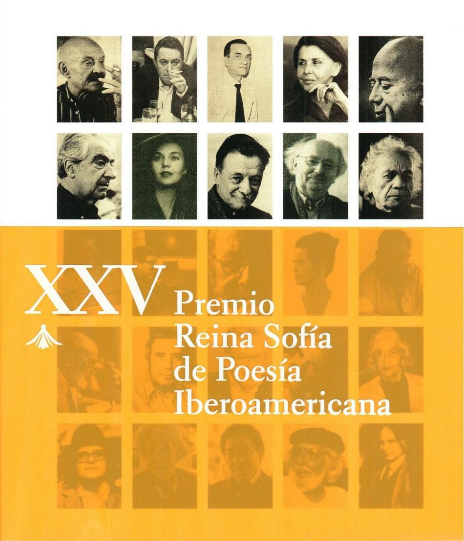 XXV PREMIO REINA SOFÍA DE POESÍA IBEROAMERICANA (1992-2016)