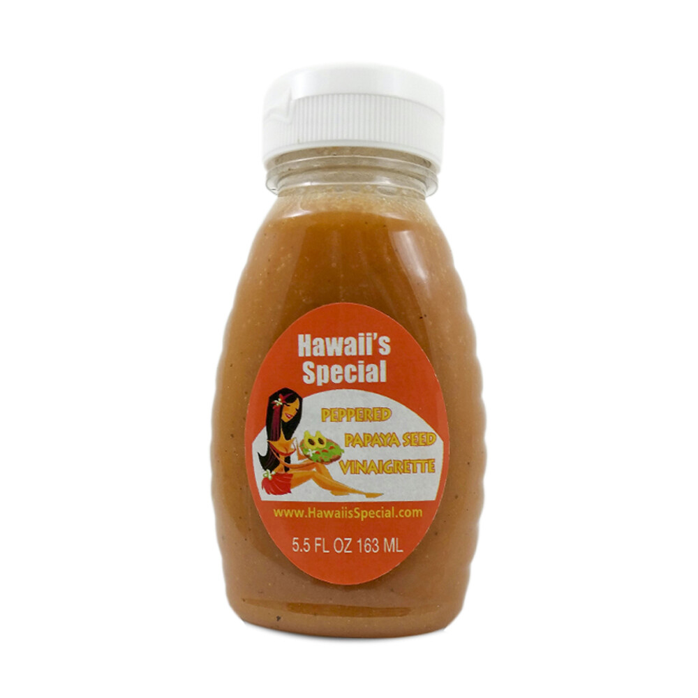 Peppered Papaya Seed Vinaigrette Dressing, 5.5 oz