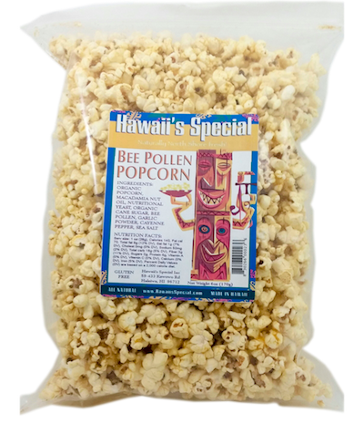 {5-Pack} Bee Pollen Popcorn, 6 oz