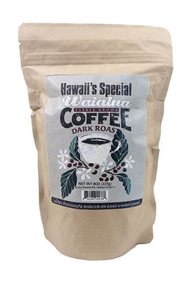 Waialua Coffee - Dark Roast, 8 oz - Ground