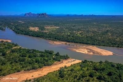 Lugenda River, Mozambique
