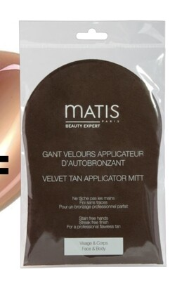 Gant velours applicateur d'autobronzant