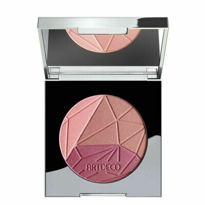 GLAMTOPIA BLUSH Blush glamour tricolore pour chaque type de peau