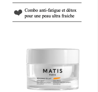 GLOW-DETOX Soin éclat anti-fatigue, détoxifiant pot 50ml