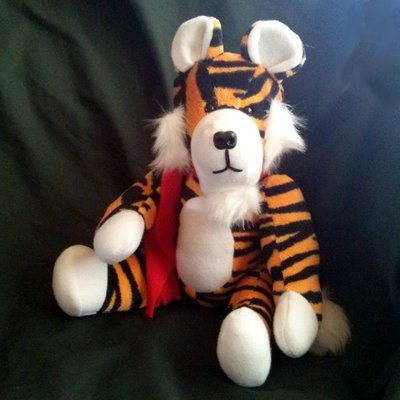 Horace the Cuddly Tiger