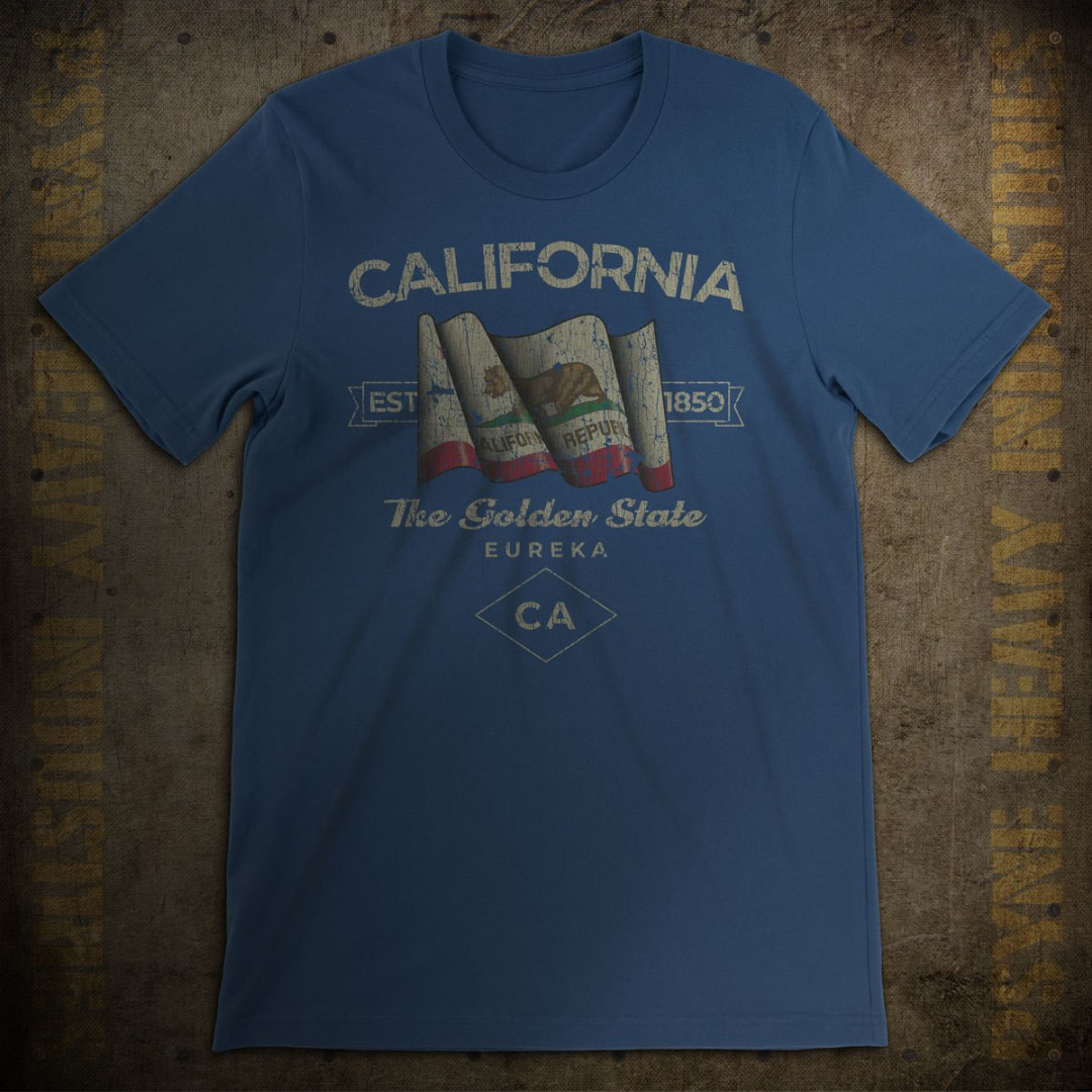 California 1850 Vintage T-Shirt
