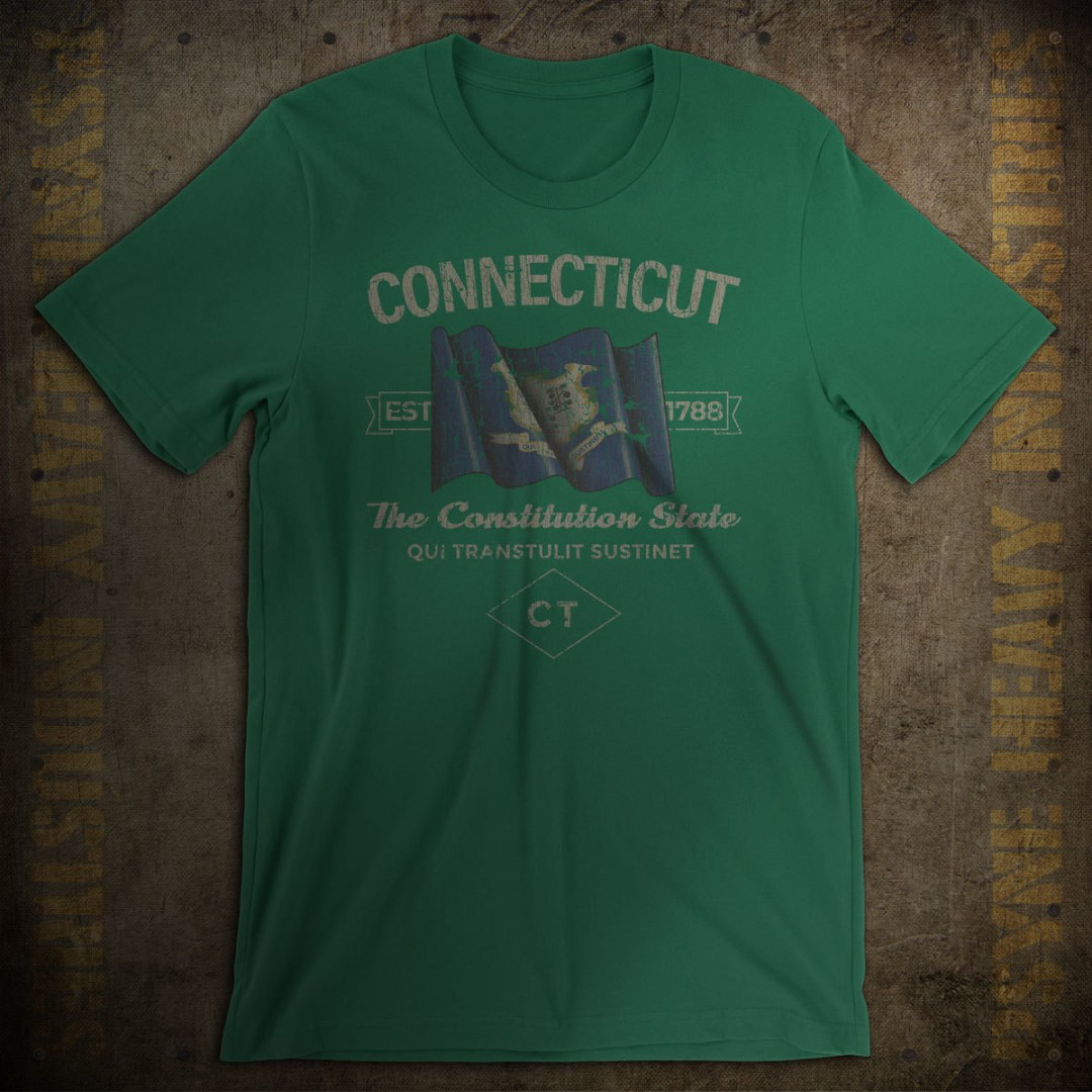Connecticut 1788 Vintage T-Shirt
