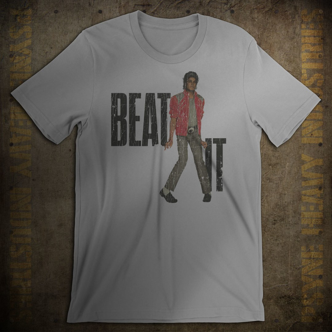 Beat It 1984 Vintage King of Pop T-Shirt
