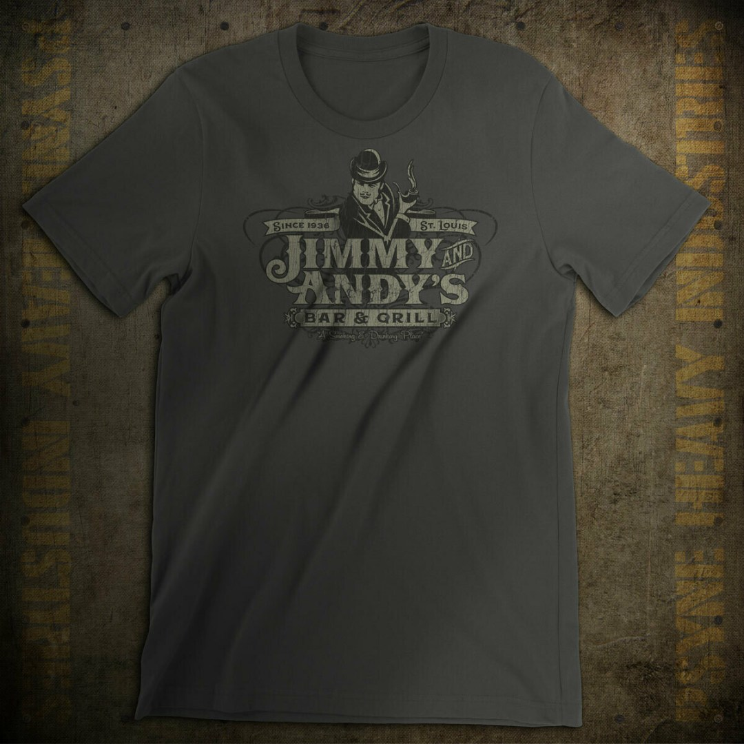 Jimmy and Andy's Bar & Grill St. Louis Vintage T-Shirt