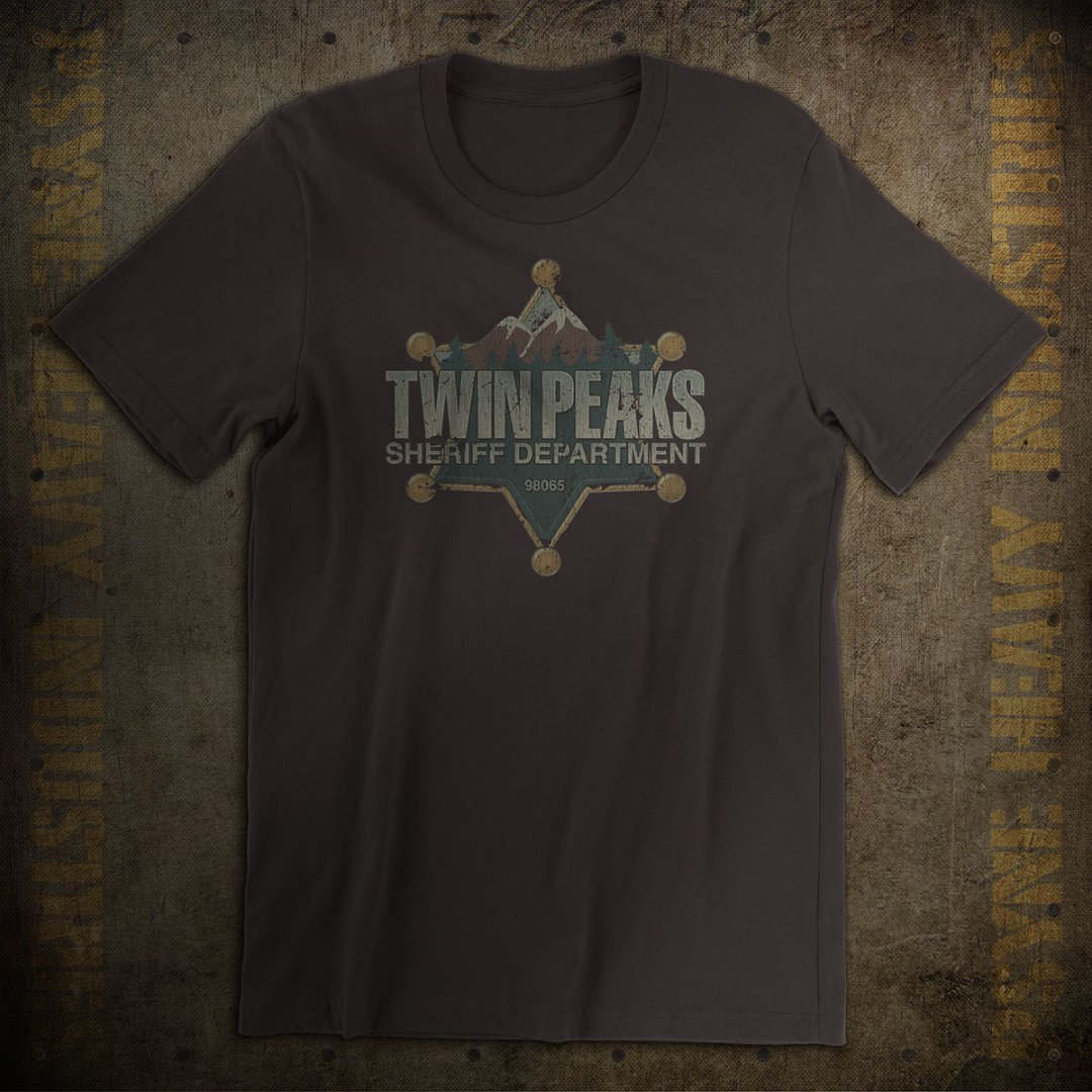 Twin Peaks Sheriff Department Vintage T-Shirt