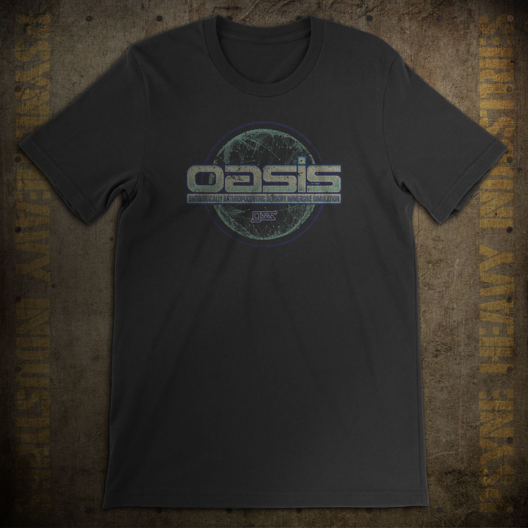 OASIS by GSS Vintage Ready Player One T-Shirt