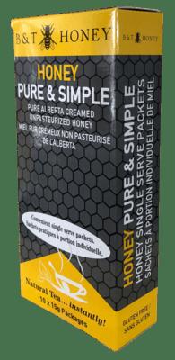 Honey Pure & Simple Singles