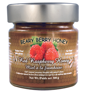Red Raspberry Honey