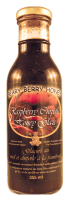 Raspberry Chipotle Honey Glaze