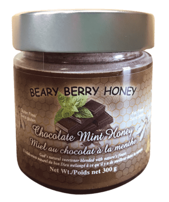Chocolate Mint Honey