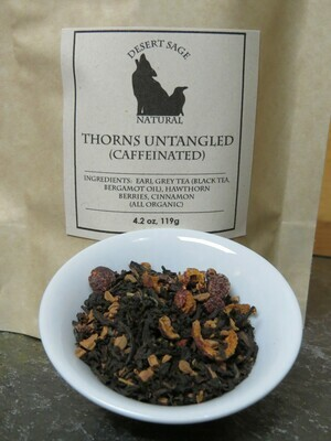 Sale - Thorns Untangled (Organic Earl Grey with Cinnamon and Hawthon Berries)