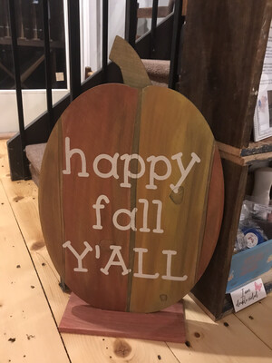 Rustic Fall Pumpkin #2