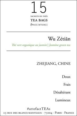 x15 Wu Zetiān Sachets de Thé | Tea Bags