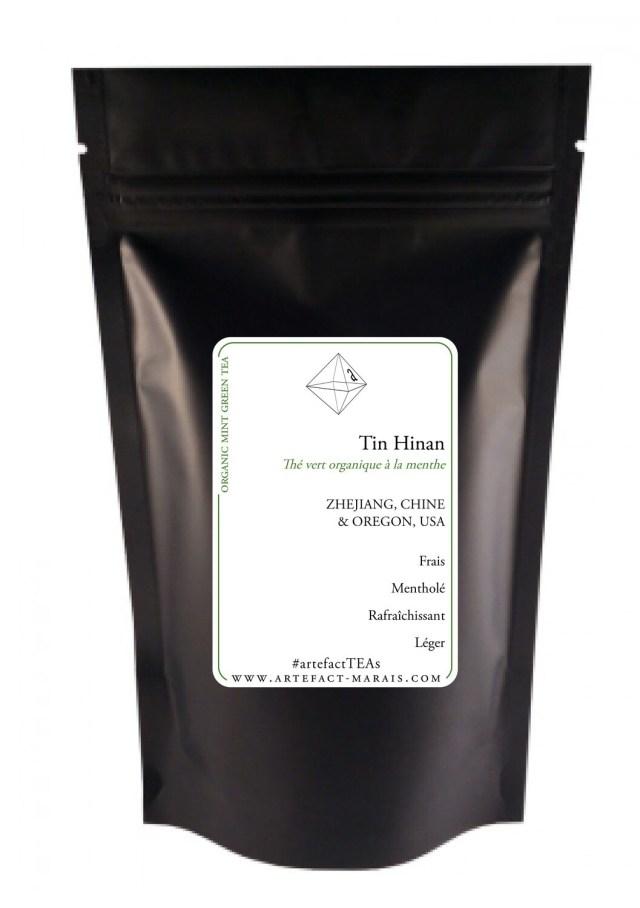Tin Hinan [Thé vert BIO à la menthe]