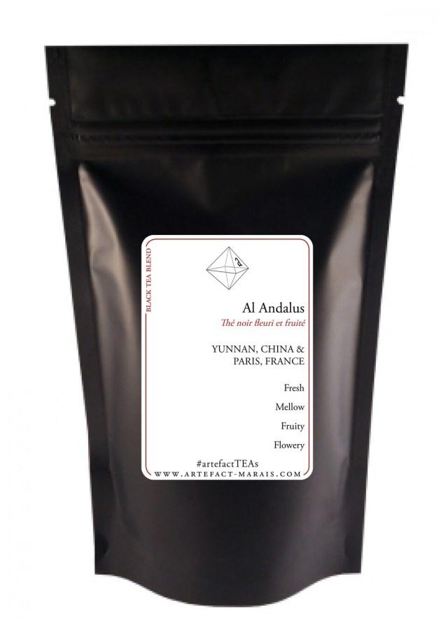 Al Andalus : [Thé noir fruité et fleuri]