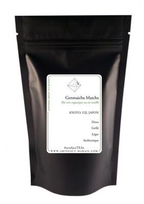 Genmaicha Matcha Blend BIO [Thé vert du Japon au riz soufflé enrobé de matcha]