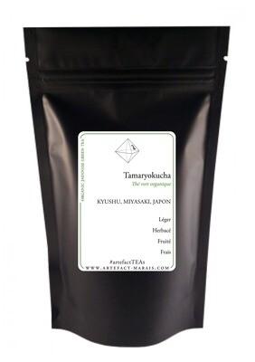Tamaryokucha [Thé vert BIO du Japon]