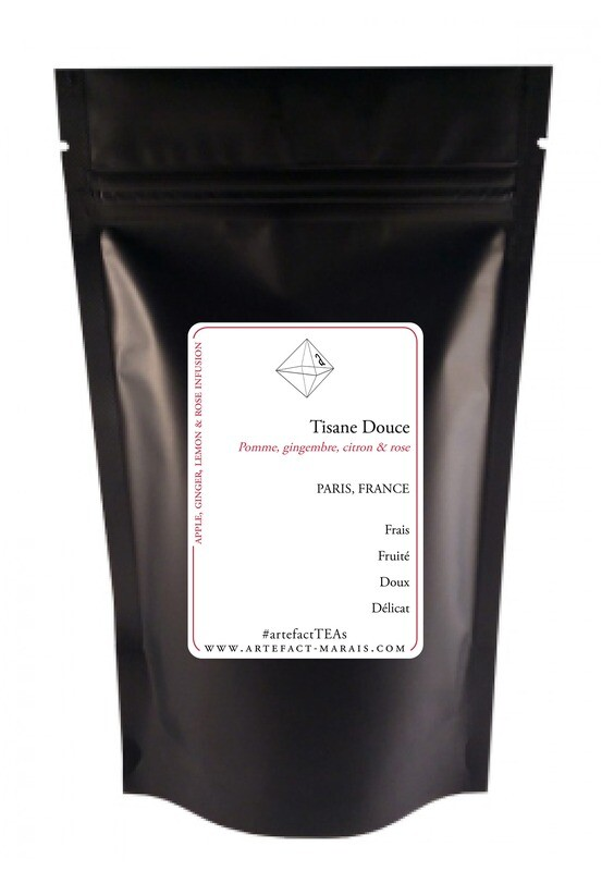 Tisane douce [Pomme, Gingembre, Citron, Rose]