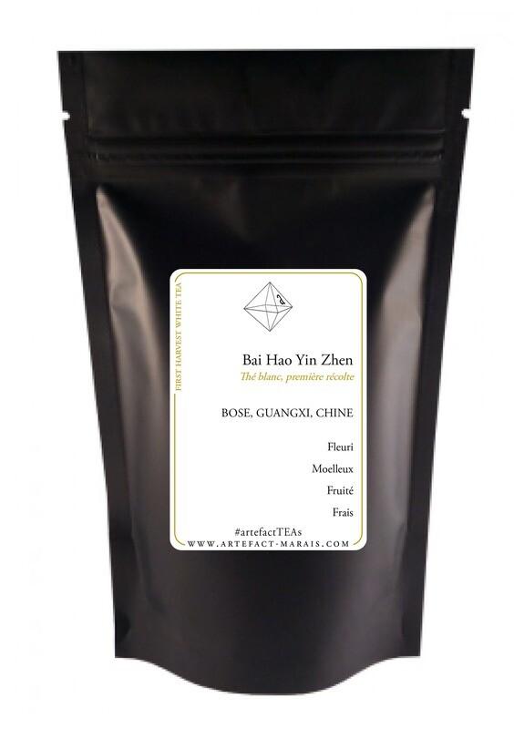 Bai Hao Yin Zhen [Silver Needle White Tea, thé blanc, première récolte]