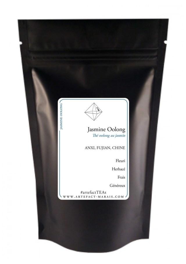 Jasmine Oolong : Paquet de 100g