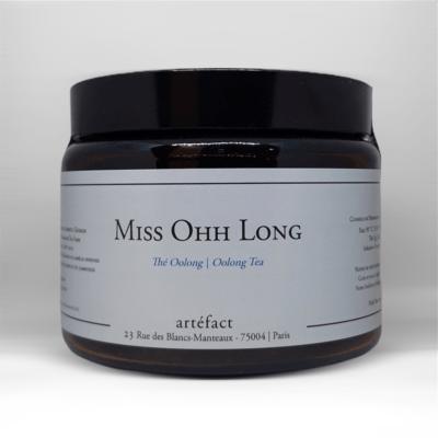 Miss Ohh Long [Oolong] : Amber Jar 80g