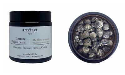 Jasmine Dragon Pearls: Amber Jar 50g