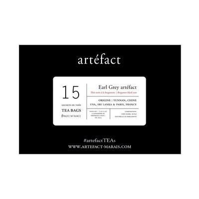 Earl Grey artéfact Sachets de Thés / Tea Bags