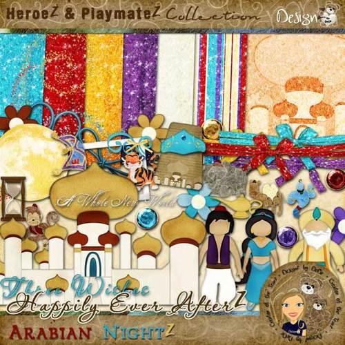 Happily Ever AfterZ: Arabian NightZ