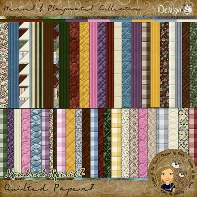 Kindred SpiritZ: Quilted PaperZ
