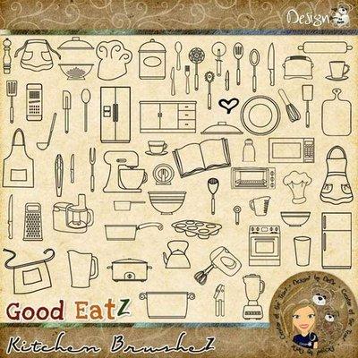 Good EatZ: Kitchen BrusheZ