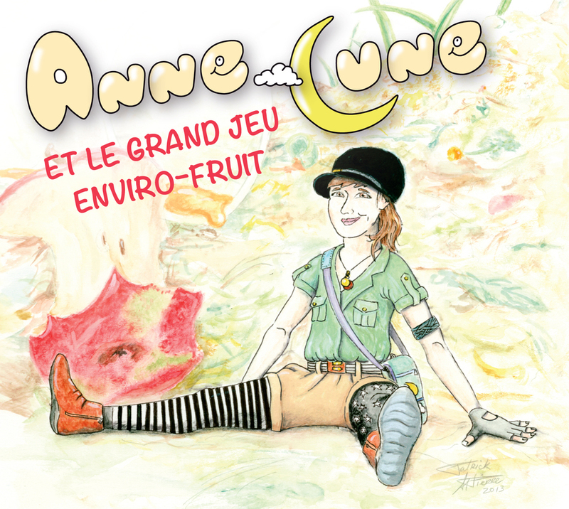 Disque Anne-Lune et le Grand jeu Enviro-fruit *PRIX RÉDUIT!