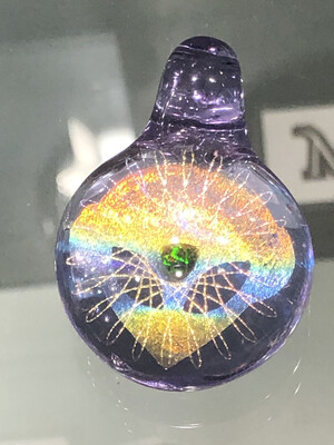 Subtl Large Tree Of Life Dichroic Pendant