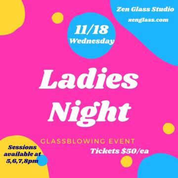 Ladies Night Wednesday November 18th 5pm