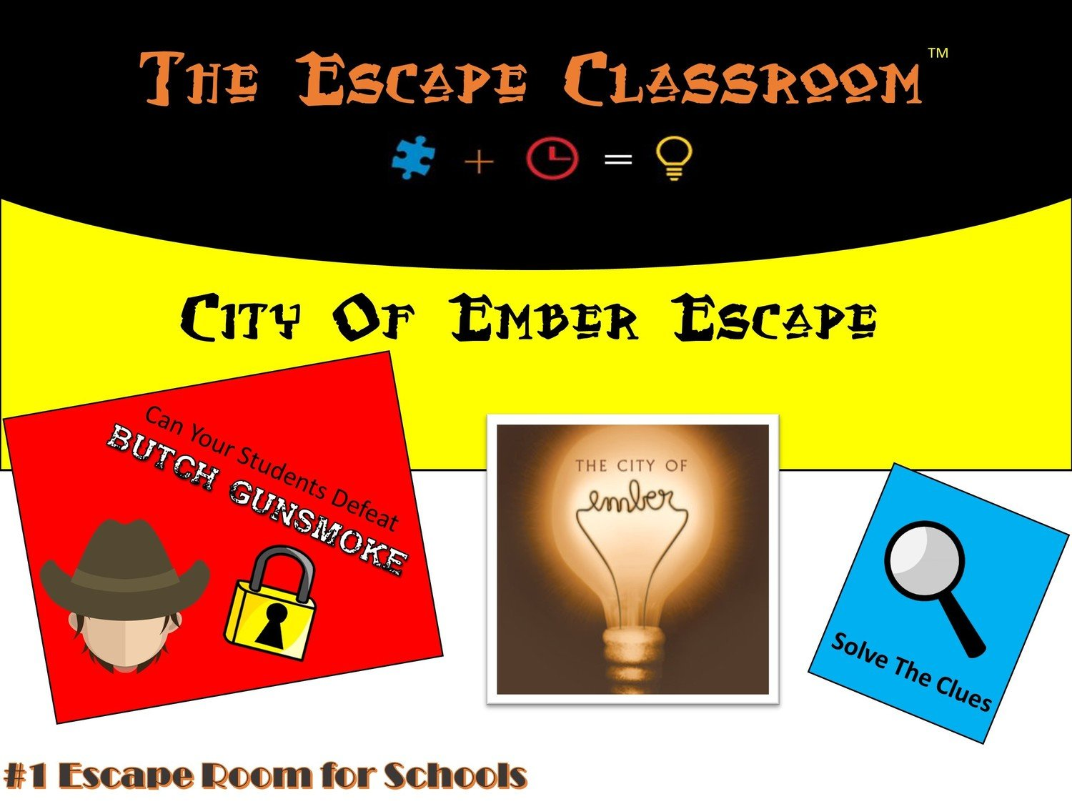 City Of Ember Escape 1 Teacher License