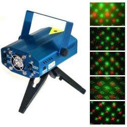Динамический лазерный проектор для дискотек