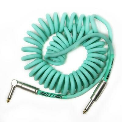 BULLET CABLE 15′ SEA FOAM COIL CABLE