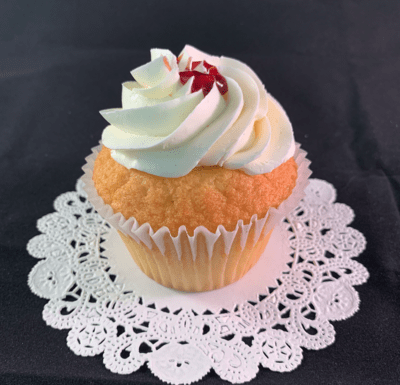 Yellow Raspberry Cupcakes -  12 cupcakes