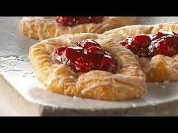 (4) Cherry Danish